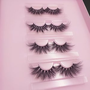 20mm Seberian mink strp lashes
