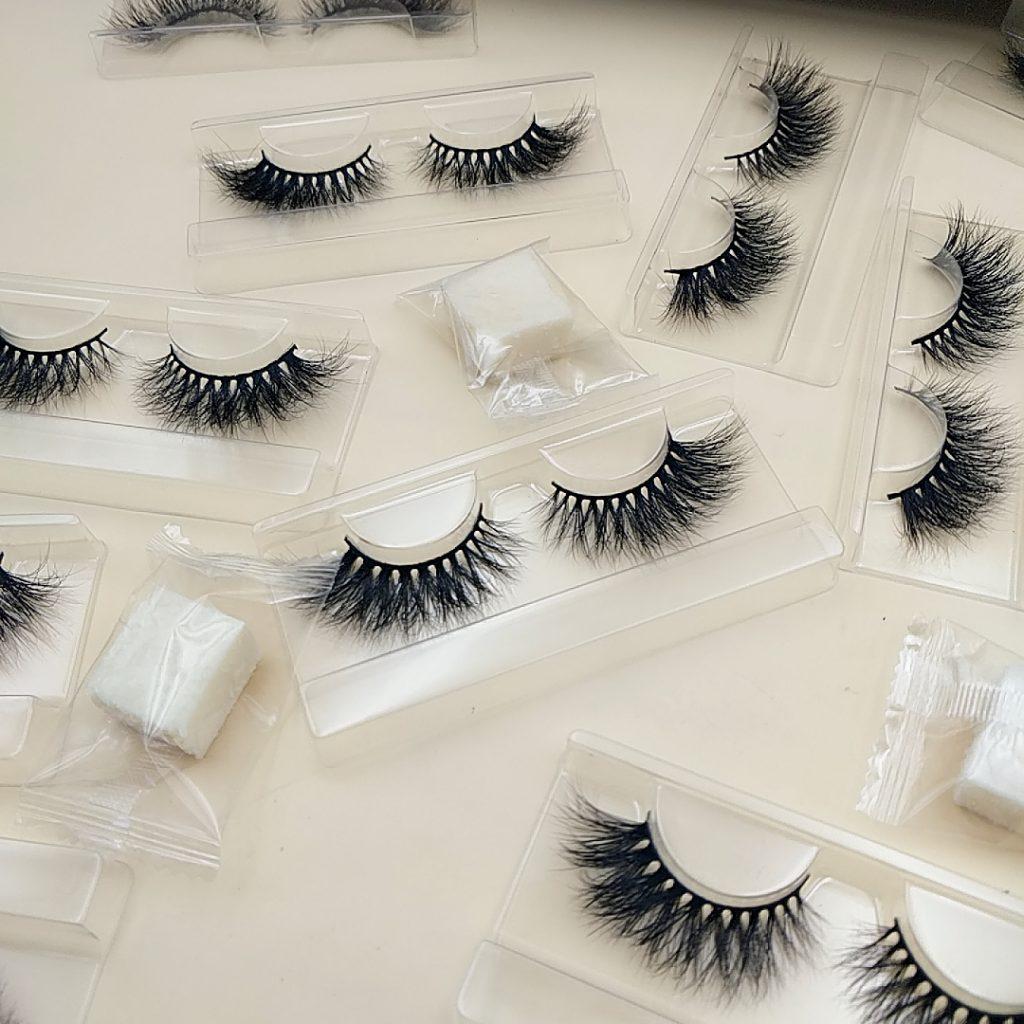 3D Seberian mink strip lashes
