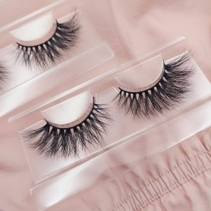 3D Seberian mink strip lashes
