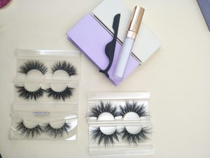 25mm big Siberian strip mink lashes