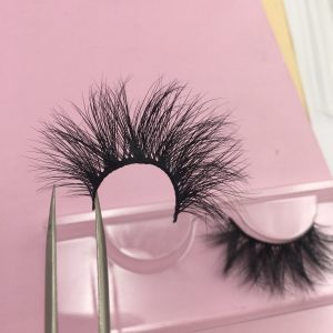 20mm Seberian mink strp lashes