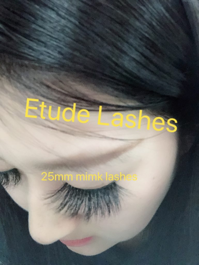 25MM lashes try on lash vendors