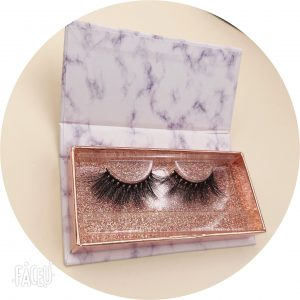 Luxury eyelash packing boxes with private label lash vendors