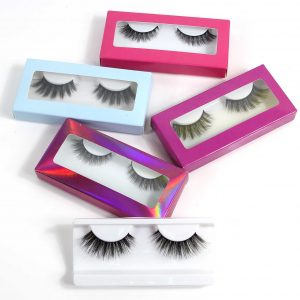 Cardboard Eyelash Box