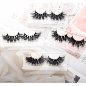 Fluffy and soft high-quality mink eyelashes
