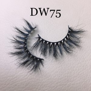 The best selling natural mink eyelashes DW75