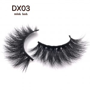 Best selling 20MM mink eyelashes DX03