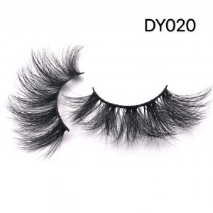 25MM Fluffy Mink Eyelashes