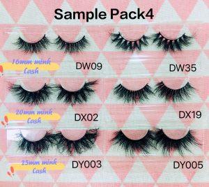 Mink Eyelash Sample Pack