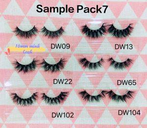 Mink Lash Sample Pack