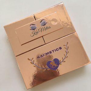 eyelash box template
