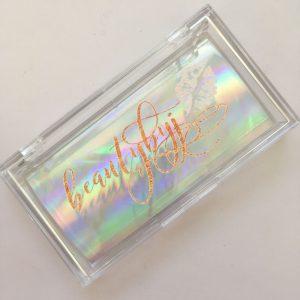 Square Acrylic Eyelash Cases