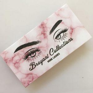 Custom Marble Eyelash Packaging usa