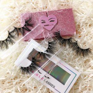 wholesale eyelash packaging box