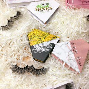 wholesale handmade mink eyelashes
